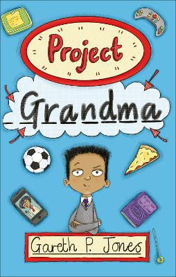 Cover for Project Grandma by Gareth P. Jones