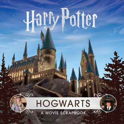 Cover for Harry Potter - Hogwarts A Movie Scrapbook by Warner Bros