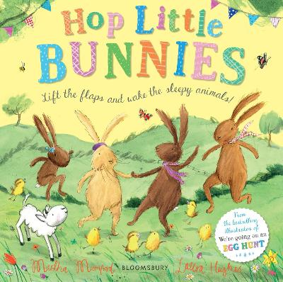 Hop Little Bunnies Board Book