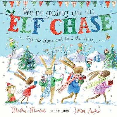 We're Going on an Elf Chase Board Book
