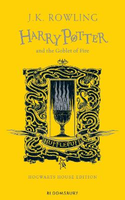 Cover for Harry Potter and the Goblet of Fire - Hufflepuff Edition by J.K. Rowling