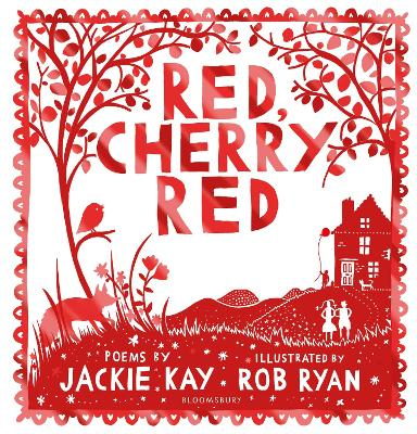 Book Cover for Red, Cherry Red by Jackie Kay