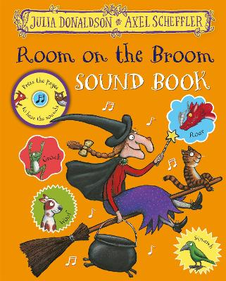 Cover for Room on the Broom Sound Book by Julia Donaldson