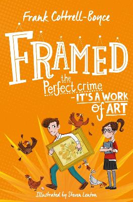 Cover for Framed by Frank Cottrell-Boyce