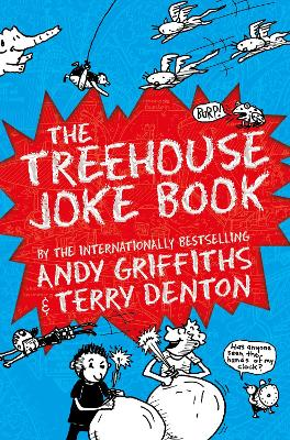 Cover for The Treehouse Joke Book by Andy Griffiths