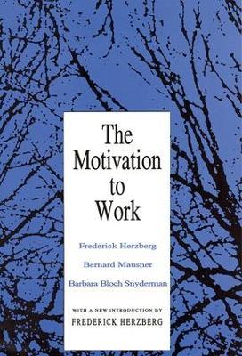 Motivation to Work by Frederick Herzberg