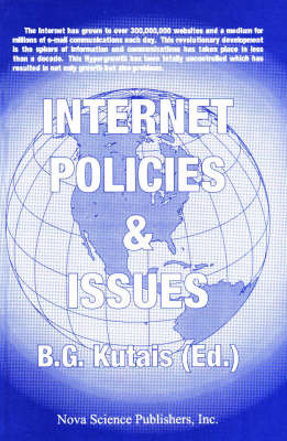 Internet Policies & Issues, Volume 1 by B. G. Kutais