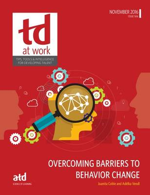 Overcoming Barriers to Behavior Change by Juanita Coble