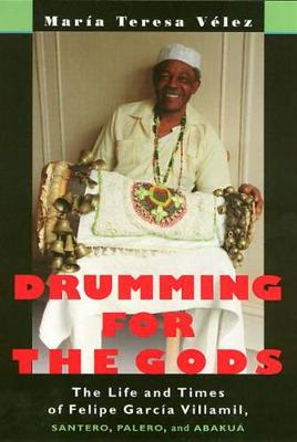 Drumming For The Gods by Maria Teresa Velez