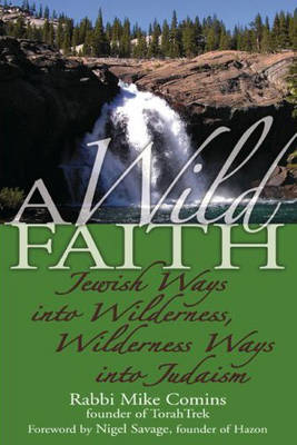 Wild Faith Jewish Ways into Wilderness, Wilderness Ways into Judaism by Rabbi Mike Comins