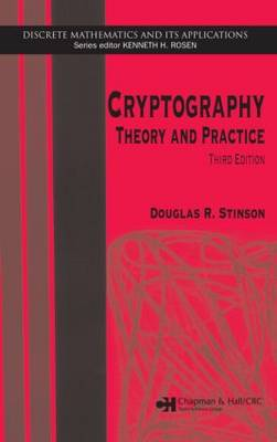 Cryptography Theory and Practice by Douglas R. Stinson
