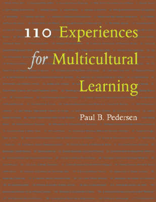 110 Experiences for Multicultural Learning by Paul B. Pedersen