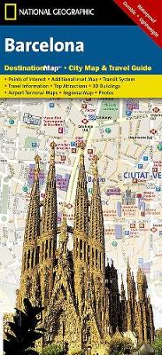 Barcelona Destination City Maps by National Geographic Maps