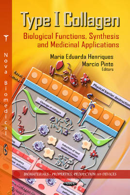 Type I Collagen Biological Functions, Synthesis & Medicinal Applications by Maria Eduarda Henriques