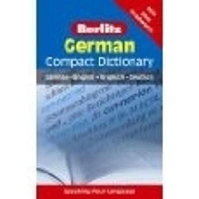 Berlitz Language: German Compact Dictionary by APA Publications Limited