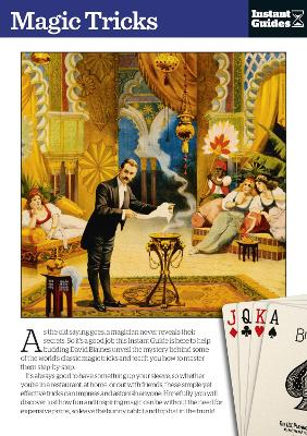 Magic Tricks The Instant Guide by Instant Guides