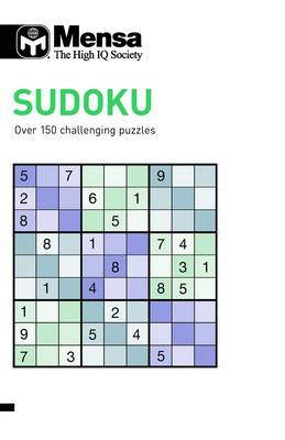Mensa Sudoku Over 150 Challenging Puzzles by Tim Dedopulos