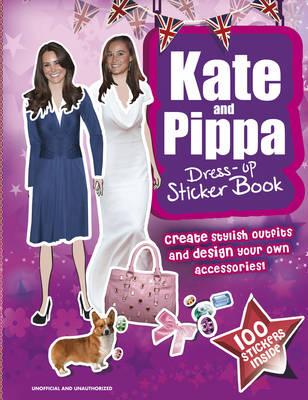 Kate & Pippa Middleton Dress-up Sticker Book by
