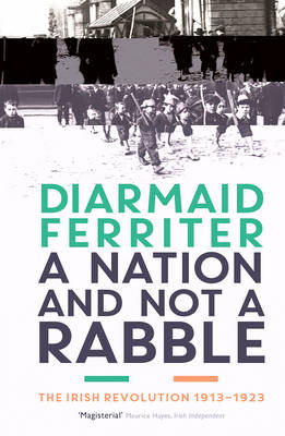 A Nation and not a Rabble The Irish Revolution 1913-23 by Diarmaid Ferriter