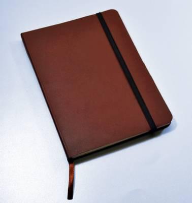 Monsieur Notebook Leather Journal - Brown Plain Medium A5 by Monsieur