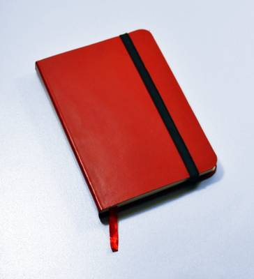 Monsieur Notebook Leather Journal - Red Plain Small A6 by Monsieur