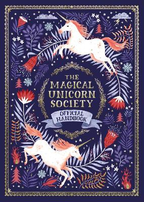 Cover for The Magical Unicorn Society Official Handbook by Selwyn E. Phipps