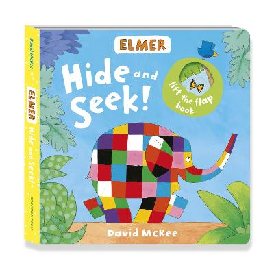 Book Cover for Elmer: Hide and Seek! by David McKee