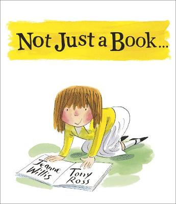 Cover for Not Just a Book... by Jeanne Willis