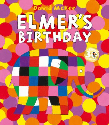 Cover for Elmer's Birthday by David McKee