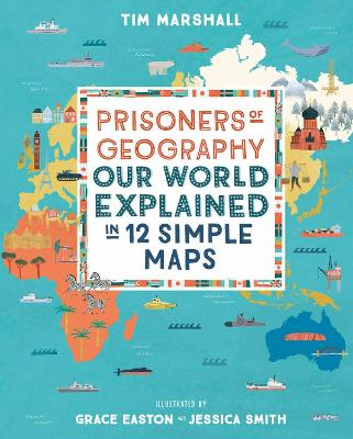 Book Cover for Prisoners of Geography by Tim Marshall
