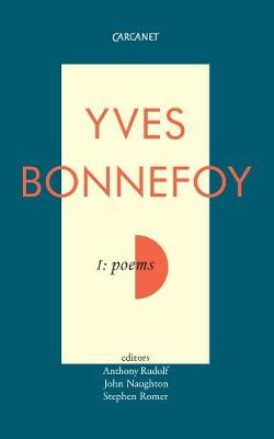Poems by Yves Bonnefoy