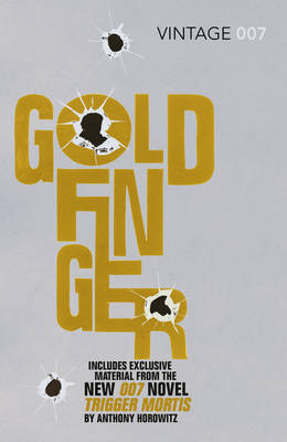 Goldfinger James Bond 007 by Ian Fleming