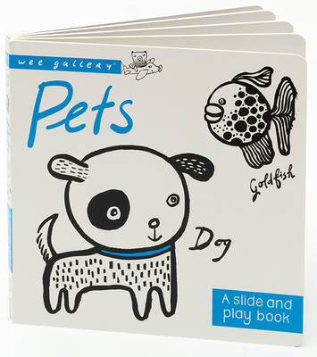 Pets A Slide & Play Book by Surya Sajnani
