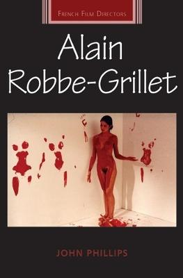 Alain Robbe-Grillet by John Phillips