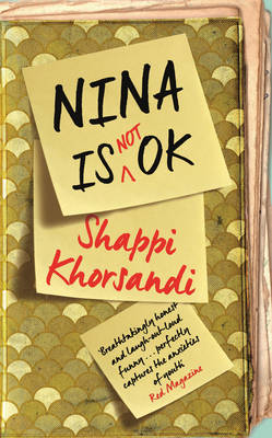 Cover for Nina is Not Ok by Shappi Khorsandi