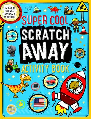 Super Cool Scratch Away Activity Book by