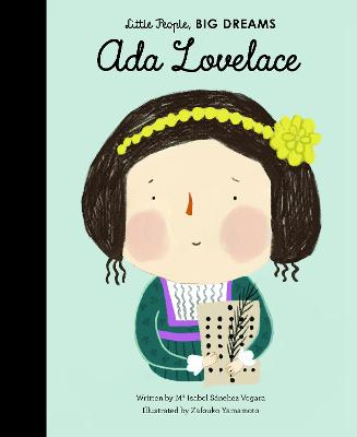 Book Cover for Ada Lovelace by Isabel Sanchez Vegara