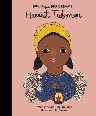 Book Cover for Harriet Tubman by Isabel Sanchez Vegara