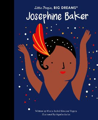 Book Cover for Josephine Baker by Isabel Sanchez Vegara, Agathe Sorlet