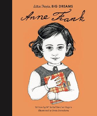 Book Cover for Anne Frank by Isabel Sanchez Vegara