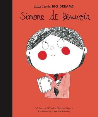 Book Cover for Simone de Beauvoir by Isabel Sanchez Vegara, Christine Roussey
