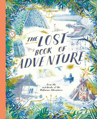Cover for The Lost Book of Adventure by Unknown Adventurer