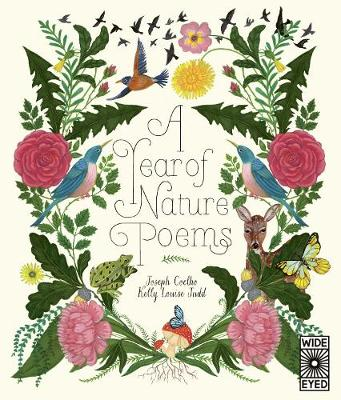 Book Cover for A Year of Nature Poems by Joseph Coelho