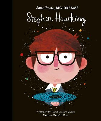 Book Cover for Stephen Hawking by Isabel Sanchez Vegara