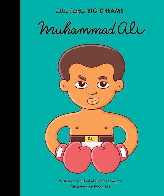 Book Cover for Muhammad Ali by Isabel Sanchez Vegara