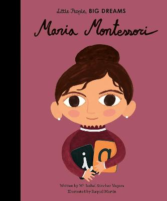 Book Cover for Maria Montessori by Isabel Sanchez Vegara