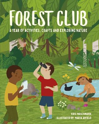 Book Cover for Forest Club by Kris Hirschmann