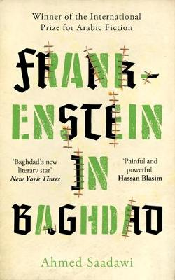 Cover for Frankenstein in Baghdad by Ahmed Saadawi