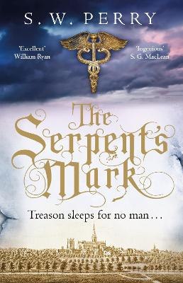 Cover for The Serpent's Mark by S. W. Perry