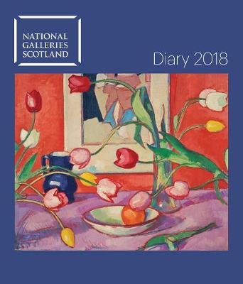 National Galleries of Scotland Desk Diary 2018 by Flame Tree Studios